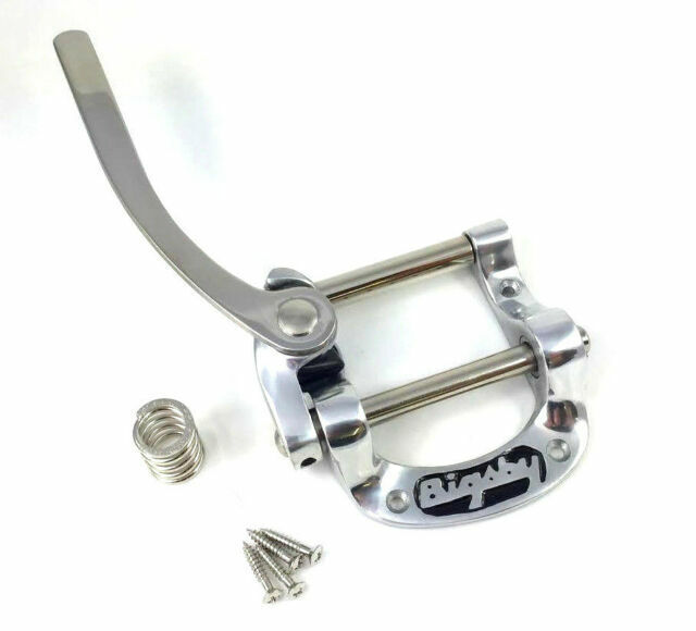 NEW Bigsby USA B5 Vibrato Tailpiece Gold Bigsby for Flat Top Guitar Tele SG