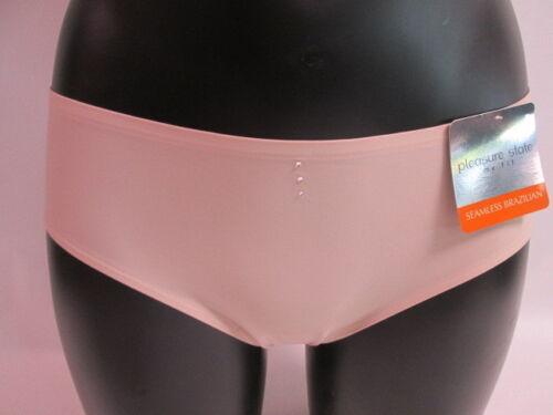 Pleasure state 38-4025 nude frappe sans soudure culotte brésilienne-petit # 22l252