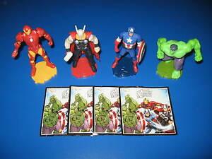 Maxi-Ei-Komplettsatz-034-Marvel-Avengers-034-inklusive-alle-Beipackzettel