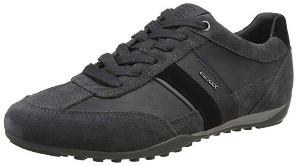 Geox Respira caballeros u wells C low-Top cortos zapatos zapato bajo u52t5c antracita