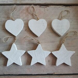 Set-of-3-Rustic-White-Wooden-Hanging-Hearts-Star-Wedding-Wishing-Tree-Decoration