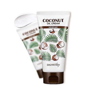 [SECRET KEY] Coconut Oil Cream - Never Dry 150g / Resolution for skin dryness