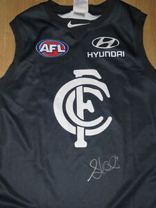 b5bddb83e3d0 Image is loading CARLTON-STEPHEN-KERNAHAN-SIGNED-JERSEY-PHOTO-PROOF-amp-