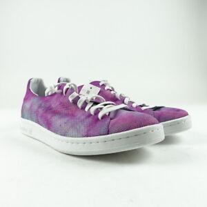 regard détaillé 19b90 f7772 Details about Adidas Men's Shoes Size 9.5 Pharrell Williams Hu Holi Stan  Smith MC Purple DA961