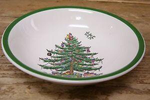Spode Christmas Tree Coupe Soup Cereal Bowl 48 England S3324   eBay