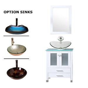 24-039-039-White-Bathroom-Vanity-Cabinet-Vessel-Round-Glass-Sink-w-Faucet-Mirror