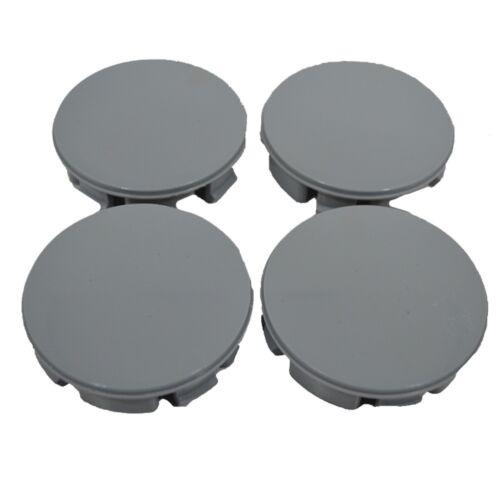 Set 4 pcs Grey Wheel Center Hub Caps 57mm//53mm For Seat Skoda Dacia Fiat K03g
