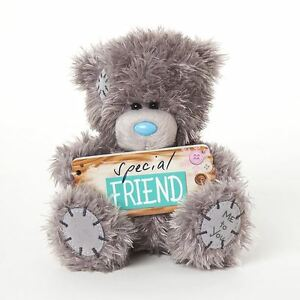 Me-to-You-5-034-Plush-With-Special-Friend-Plaque-Gift-For-Friends-Tatty-Teddy-Bear