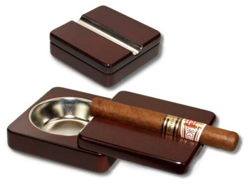 Zigarrenascher ausschiebbar Magnetverschluß Roosewood