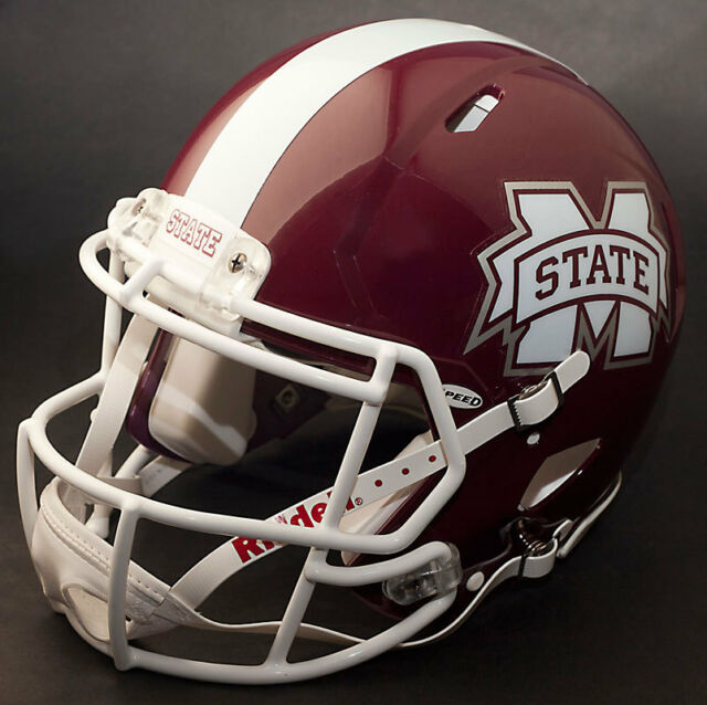 MISSISSIPPI STATE BULLDOGS Riddell Revolution SPEED Football Helmet