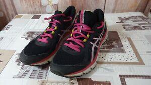 Asics-Femmes-Baskets-Chaussures-De-Course-T4D9N-Taille-38eu-7us-5-UK-24-0-cm-Di