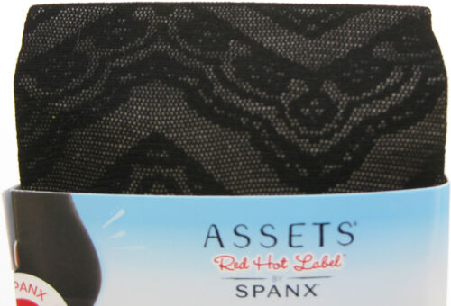 New Assets Red Hot Label by Spanx Shaping Tights Black Wmn sz 2-4 or B-D Pick 1