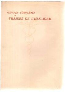 Oeuvres-completes-de-Villiers-de-l-039-Isle-Adam-Tome-VI-histoires-insolites