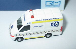 Rietze-16973-Iveco-Daily-Ambulancia-Es-1-160-Neuf-Emballage-Scelle