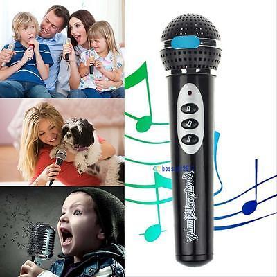 Children Girls Boys Microphone Mic Karaoke Singing Kids Funny Music Toy Gifts BS