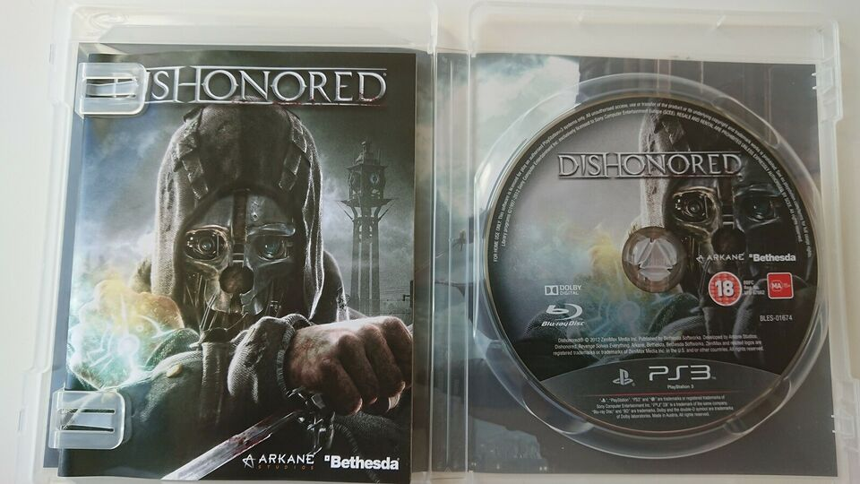 Dishonored, PS3