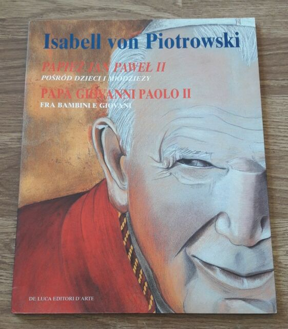 Papa Giovanni Paolo II tra bambini e giovani Copertina flessibile