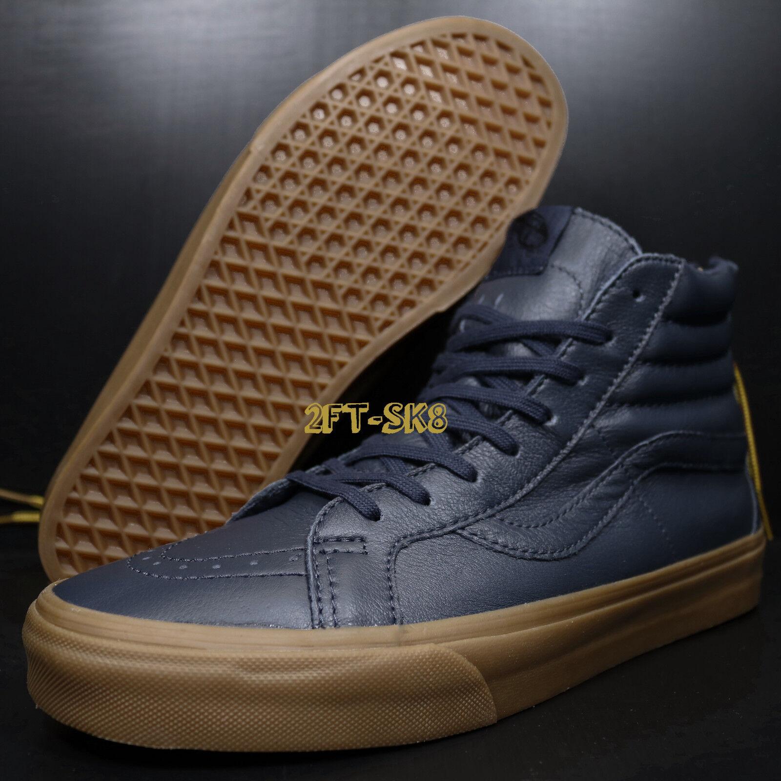 129752953bde0 VANS SK8-HI ZIP HIKING NAVY GUM MEN'S HIKING SHOES S8415.314  ncksaw712-Athletic Shoes
