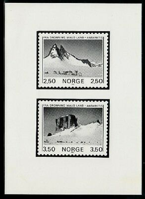 Norway Sc855-6 Antarctic Mountain Excellent In Cushion Effect Photo Essay Dog
