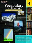 Vocabulary in Context for the Common Core Standards, Grade 4 by Steck-Vaughn (Paperback / softback, 2011)