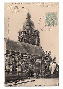 61-cartolina-MORTAGNE-Eglise-Notre-Signora-H9881