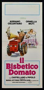 Cartel-El-Debbie-Davis-Adriano-Celentano-Tractor-Ornella-Muti-Pipolo-N41