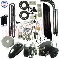 80cc 2-stroke Gas Diy Motorized Bicycle Engine Kit Bike Petrol Engine Motor