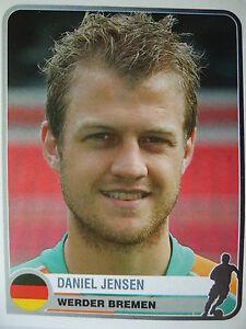 Fußball Panini 378 Daniel Jensen Werder Bremen Champions Europe 1955-2005