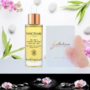 Face-Oil-Sanctuary-Spa-30ml-Free-Gua-Sha-Facial-Massager-Natural-Rose-Quartz