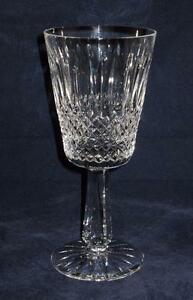 Galway-Crystal-CLADDAGH-Older-Criss-Cross-Vertical-Lines-Water-Glass-7-3-4-034
