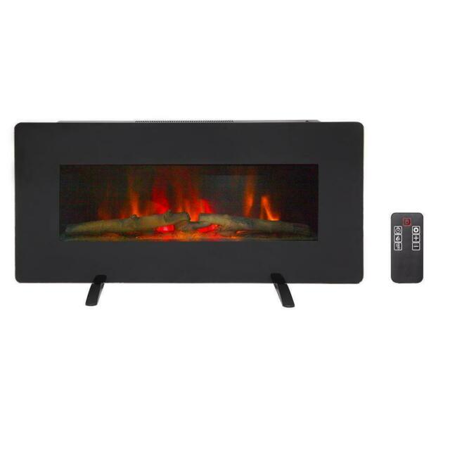 36 In Wall Mount Freestanding, Fake Fireplace Heater Wall