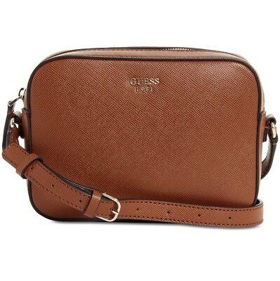 GUESS Kamryn Crossbody Handbag CognacGold | eBay