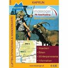 Kaprun Luftbildpanorama & Wanderkarte (2009, Mappe)