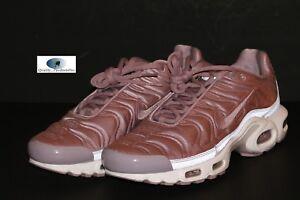 f3fa8fdb602df3 Nike Women  039 s Air Max Plus SE Plum Fog Satin Pack 830768 551 Sz 10