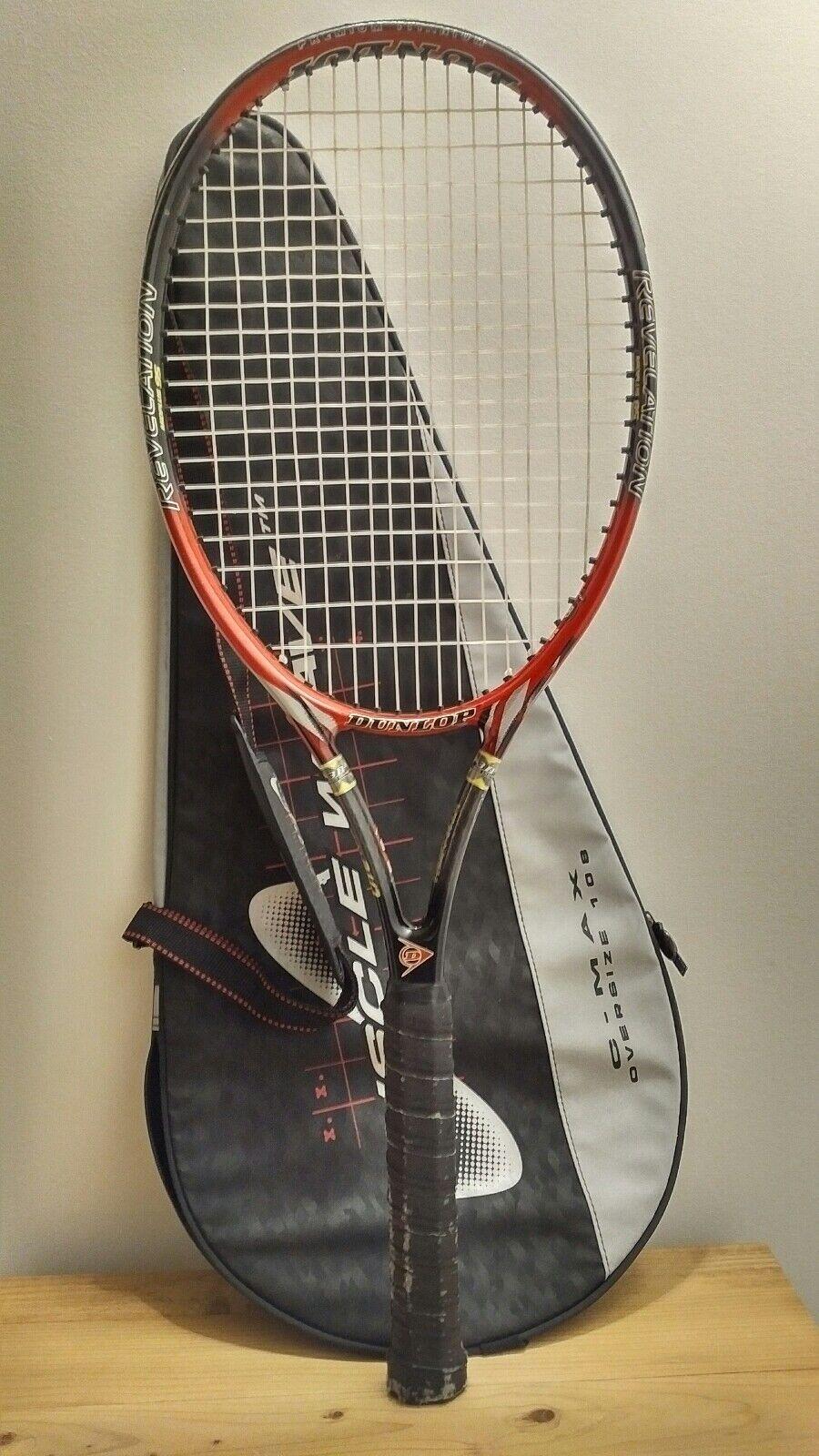 Dunlop Revelation Lite +0.50 - medio + 95 Raqueta - 4 5 8 Bolsa de agarre y otros Dunlop