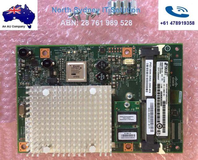 Cisco SRE Internal Services Module ISM-SRE-300-K9 w/ Screw Set, 1 Yr Wty, Invo.