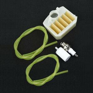 Air Filter 537-02-40-03 fit Husqvarna 340 345 346 350 351 353 Chainsaw Fuel Line