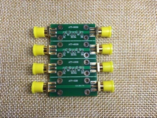 FR Radio frequency attenuator 0dB, 10dB, 20dB, 30dB frequenz abschwächer