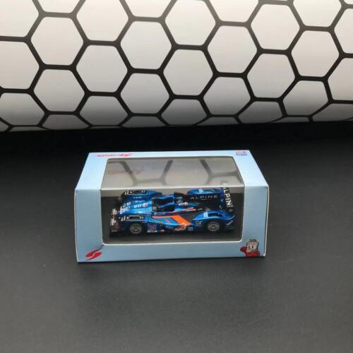 New 1//64 Spark Alpine A450 Le Mans 24h LM 2015 car model #36 blue W livery Y090