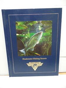 North American Fishing Club Livre D'eau Douce Secrets Doré Jaune Truite Brochet Maskinongé-afficher Le Titre D'origine