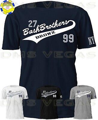 online store 620fe b2bf1 New York Yankees Stanton Judge Bash Brothers Tail Jersey Tee T Shirt Men  S-5XL | eBay