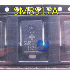 5pcs-SM8S17A-automobile-ordinateur-Conseil-transitoire-Diode-Nouveau