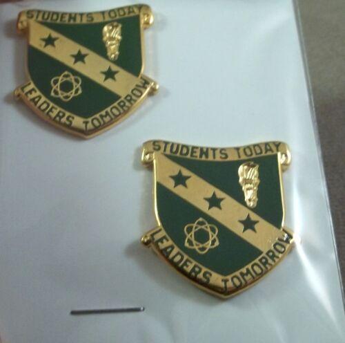 Arkansas Polytechnic College ROTC Unit Crest Insignia New Pair G-23
