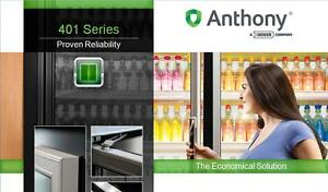 ... New-Anthony-Walk-in-Cooler-Glass-Display-Doors- & New Anthony Walk in Cooler Glass Display Doors 401 23x67 Complete ... pezcame.com