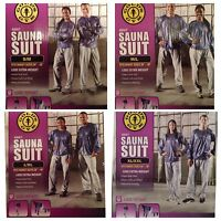 Golds Gym Sauna Suit With Reflective Sleeves Pick Your Size From Small To Xxl