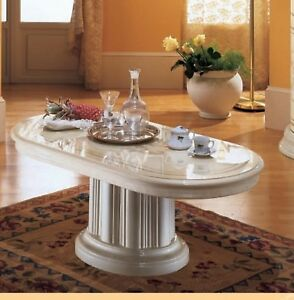 Details About Florence Luxury Italian Coffee Table