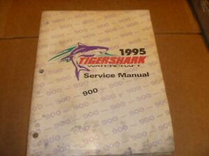 OEM 1995 Tigershark 900 Service Shop Repair Manual 2255-249