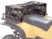 Camo Mossy Oak Camouflage Atv Rear Saddle Bags W/24 Can Ice Cooler Camo Atv Pack