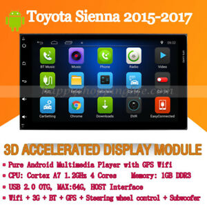 Details About 9 Android 8 0 Car Stereo For Toyota Sienna 2017 Gps Navigation Wifi 3g