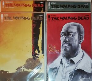 Walking-Dead-192-193-1st-amp-2nd-Death-of-Rick-Grimes-Final-Issue-NM-9-6-9-8